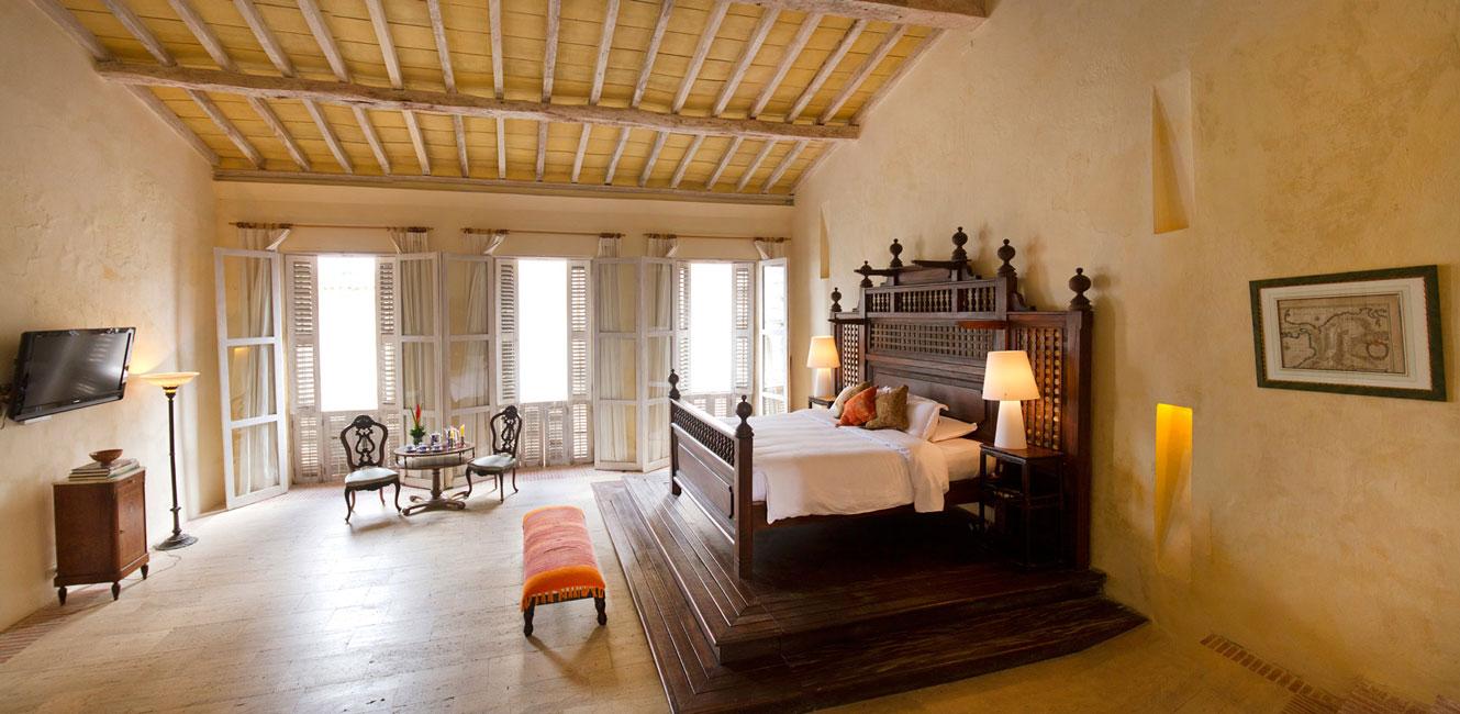 Casa pombo apartamento hist rico cartagena for Descripcion de habitaciones de un hotel